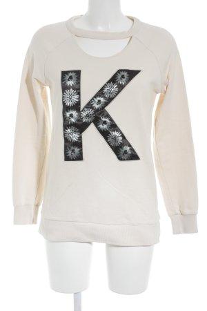 Karl Lagerfeld Sweatshirt mehrfarbig Casual-Look