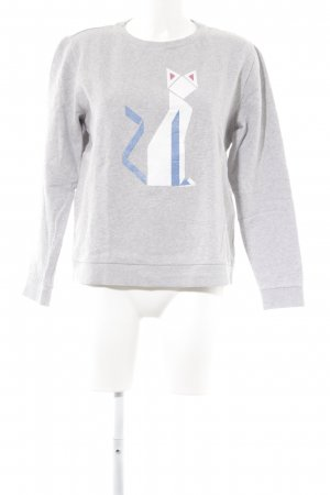 Karl Lagerfeld Sweatshirt Motivdruck Casual-Look