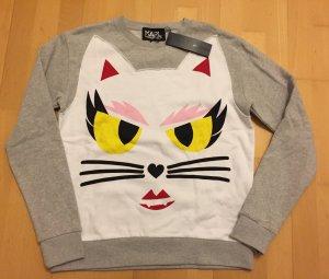 Karl Lagerfeld Sweatshirt Pullover Monster Choupette Katze XS/ S