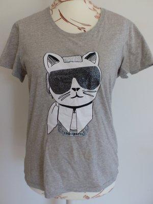 Karl Lagerfeld Camiseta gris Algodón