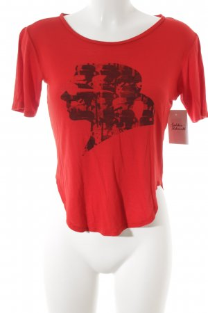 Karl Lagerfeld T-Shirt rot Casual-Look