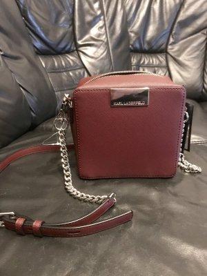 Karl Lagerfeld Crossbody bag bordeaux-dark red