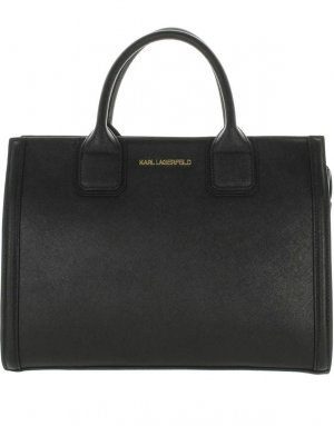 Karl Lagerfeld Shopper black-gold-colored