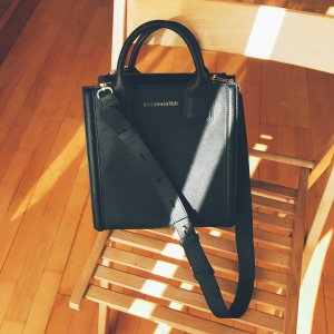 Karl Lagerfeld Tote black leather