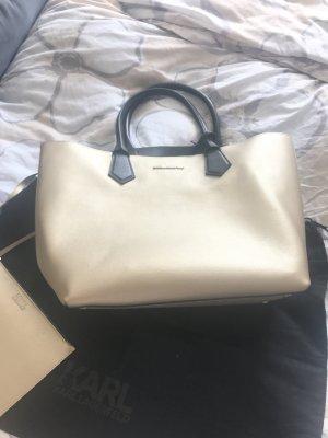 Karl Lagerfeld Tasche Gold
