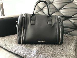 Karl Lagerfeld Bolso negro Cuero