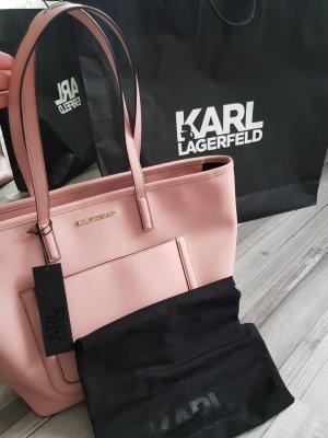 Karl Lagerfeld Tasche Shopper altrosa