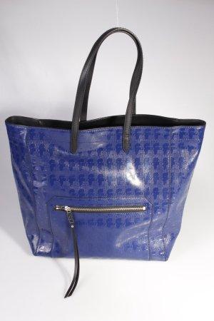 Karl Lagerfeld Tote PVC Blue Small II