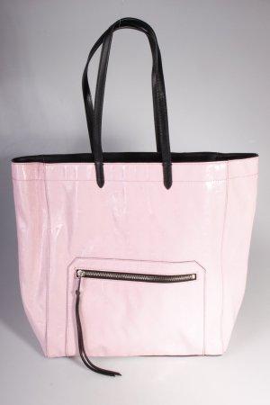 Karl Lagerfeld Tote PVC Logo Shopper Shiny Pink