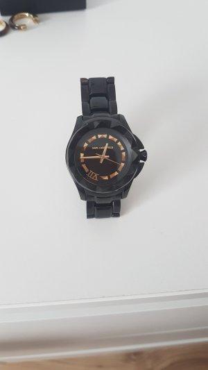 Karl Lagerfeld Analoog horloge zwart-goud