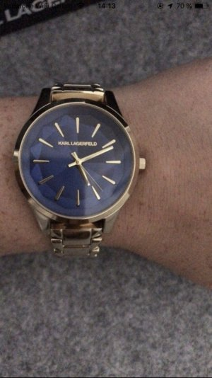 Karl Lagerfeld Uhr gold