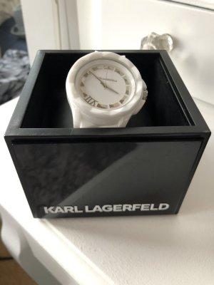 Karl Lagerfeld Horloge wit