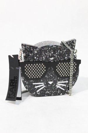 Karl Lagerfeld Borsa a spalla nero Tessuto misto