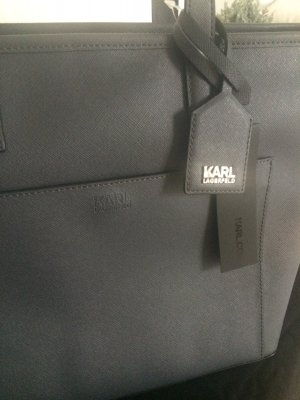 Karl Lagerfeld zip Shopper Grey