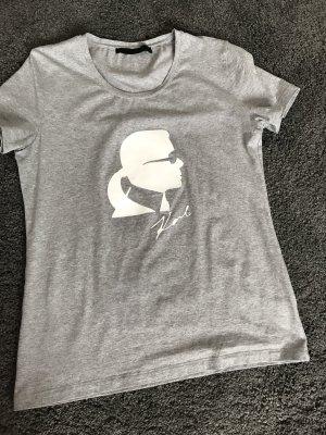 Karl Lagerfeld Camiseta blanco-color plata