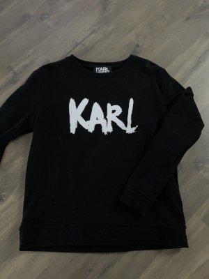Karl Lagerfeld Pull long noir