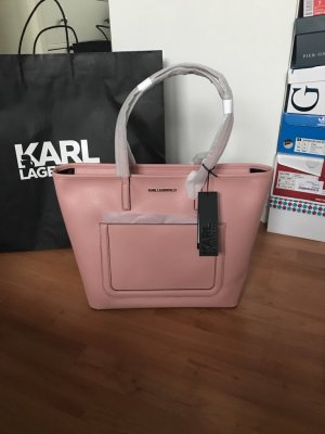 Karl Lagergeld Shopper Neu rosa Rose