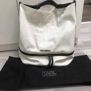 Karl Lagerfeld Carry Bag white-black