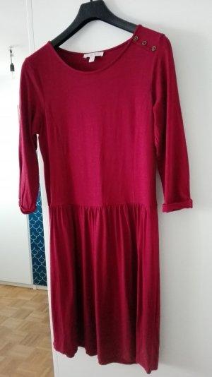 Karminrotes Kleid Gr. 44 von Esprit