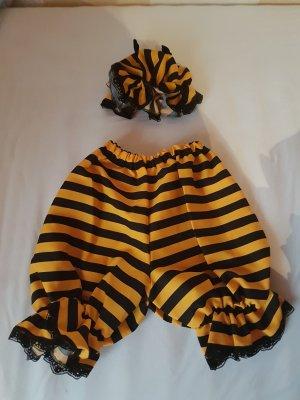Vêtement pour la maison noir-jaune