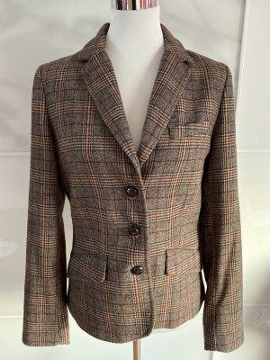 H&M L.O.G.G. Blazer in lana marrone-marrone chiaro