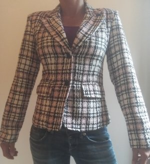 Amisu Tweed blazer veelkleurig