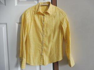 Karo Bluse 36 Jake*s P&C gelb/ weiß