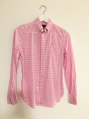 Lauren by Ralph Lauren Blouse à carreaux rose