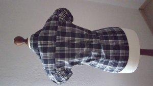 Karo-Bluse kurze Arme