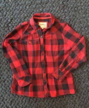 ONEILL Flannel Shirt dark blue-brick red