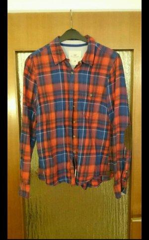 Karo Hemd in blau und rot