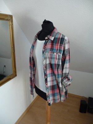 Karo Hemd Shirt Bluse M leger