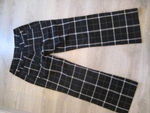Cecil Pantalone jersey nero-bianco