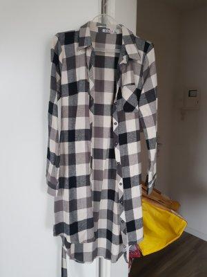 Karo Long Bluse