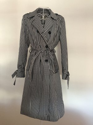 Orsay Trench Coat white-black