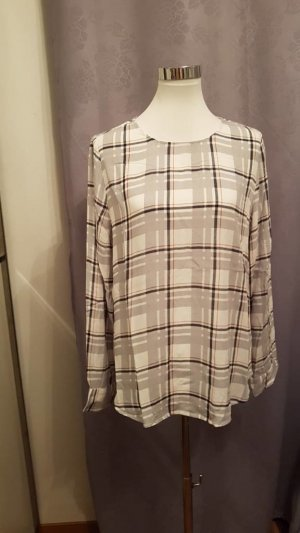Street One Checked Blouse multicolored viscose