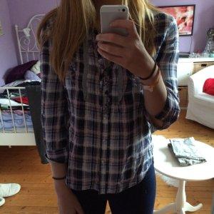 Zara Camisa de leñador multicolor