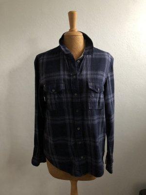 edc by Esprit Shirt met lange mouwen leigrijs-donkerblauw