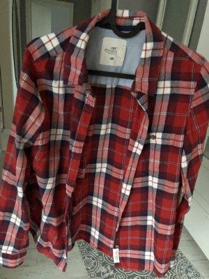 Karohemd H&M rot blau