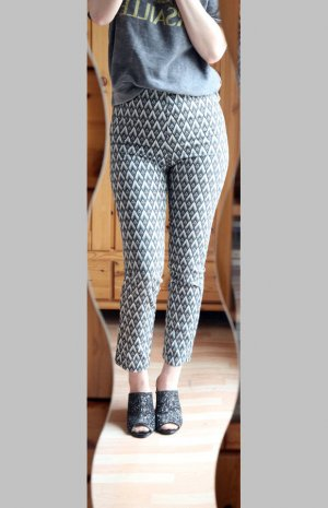 H&M Pantalone peg-top multicolore Cotone