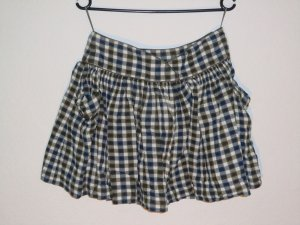 Mango Flared Skirt multicolored cotton