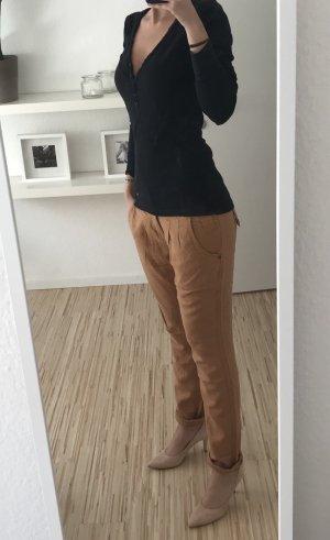 Only Peg Top Trousers cognac-coloured