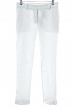 """Peg Top Trousers """"Anonyme"""" white"""