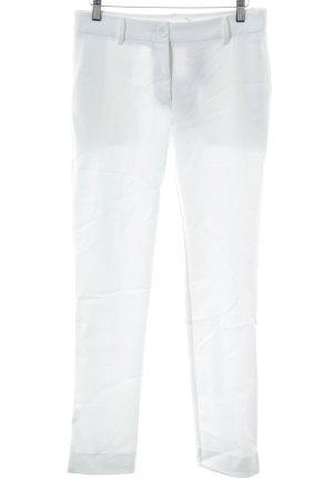 """Pantalón de pinza alto """"Anonyme"""" blanco"""