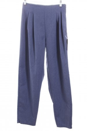 Peg Top Trousers pale blue street-fashion look