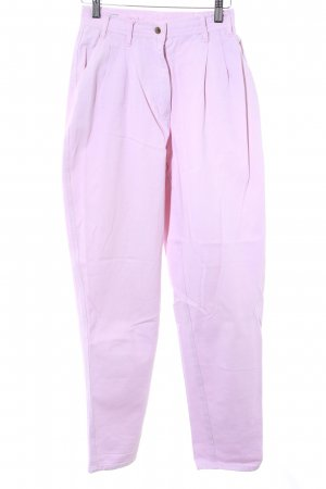 Carrot Jeans pink '80s style