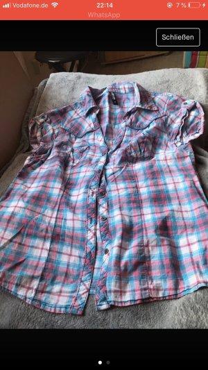 Karrierte Bluse