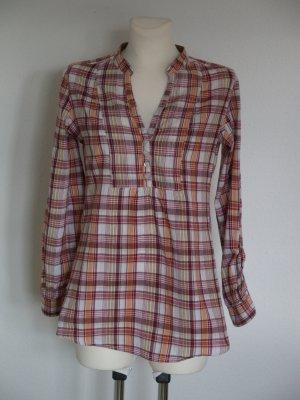 karrierte  Bluse von Cheer Gr. 34