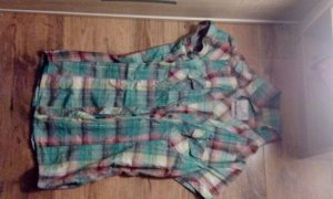 karrierte bunte Bluse