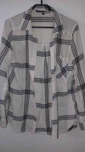 karrierte Hemd-bluse